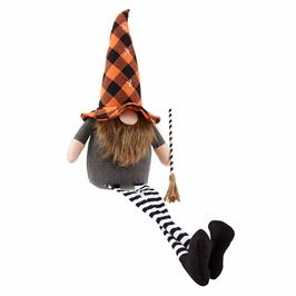 DANGLE LEG HALLOWEEN GNOME - Large - CityBarnCountryPenthouse