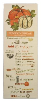 Pumpkins & Squash Pumpkin Bread Recipe Towel - CityBarnCountryPenthouse