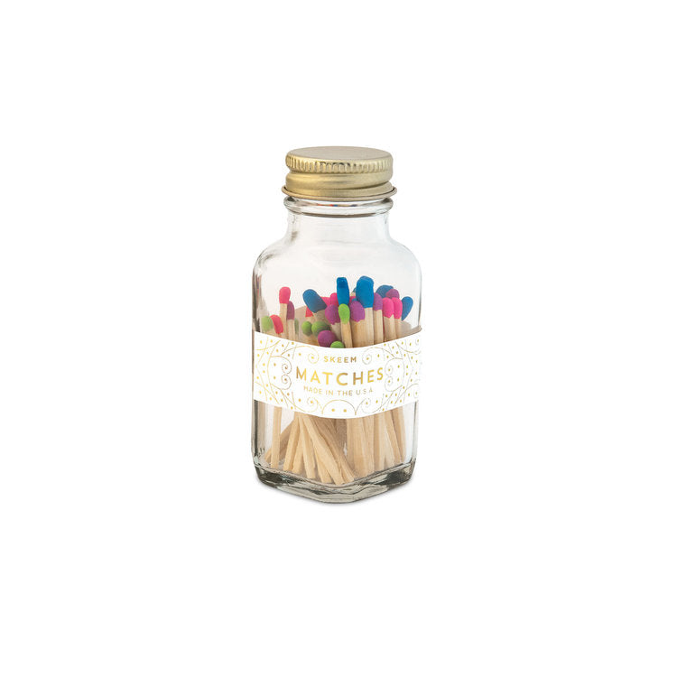 Mini Party Matches - Multi Tip - CityBarnCountryPenthouse