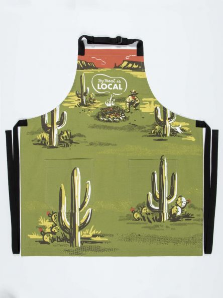 MY MEAT IS LOCAL APRON - CityBarnCountryPenthouse