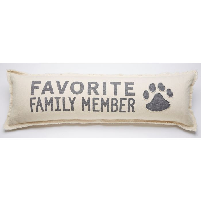 FAVORITE MEMBER LONG PILLOW - CityBarnCountryPenthouse