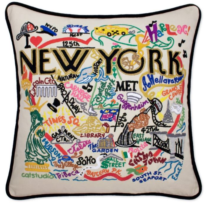 NEW YORK CITY XL PILLOW
