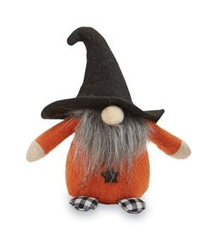 HALLOWEEN GNOME SITTER - Orange - CityBarnCountryPenthouse