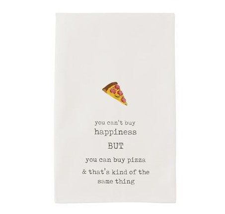 PIZZA FUNNY ICON TOWEL - CityBarnCountryPenthouse