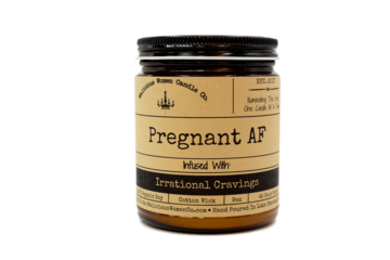 "Pregnant AF - Infused with ""Irrational Cravings"" Scent: Vanilla Cupcake - CityBarnCountryPenthouse"