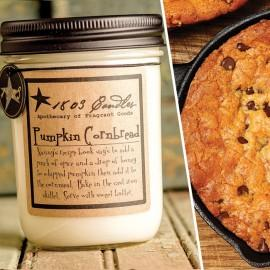 Pumpkin Cornbread Soy Jar Candle - CityBarnCountryPenthouse