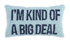BIG DEAL HOOK PILLOW - CityBarnCountryPenthouse