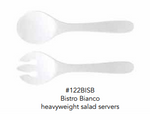 BISTRO BIANCO SALAD SERVERS (HEAVY WEIGHT) - CityBarnCountryPenthouse