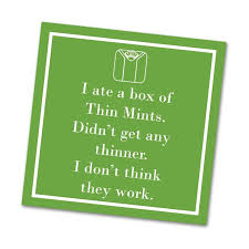 THIN MINT Cocktail Napkins - CityBarnCountryPenthouse