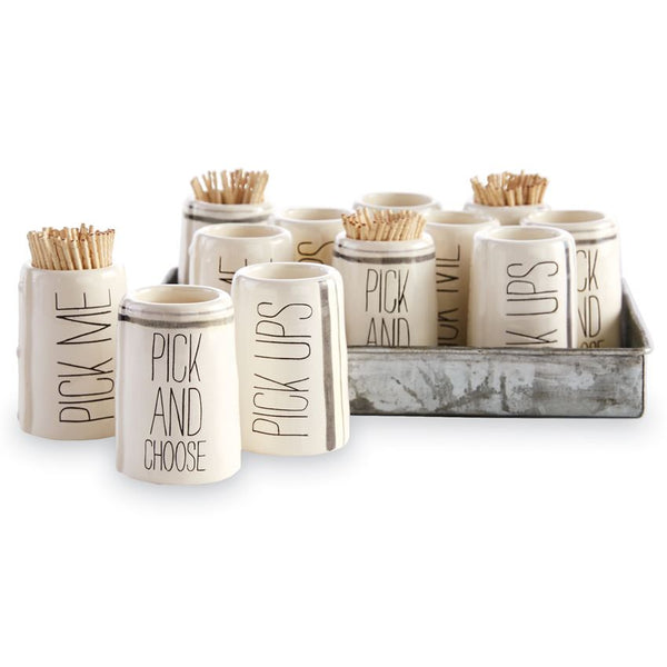Pick Me Toothpick Holder - CityBarnCountryPenthouse