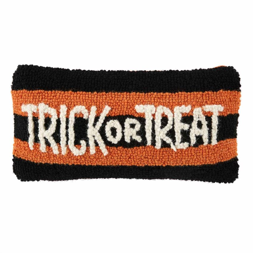 Trick or Treat MINI HOOKED PILLOW - CityBarnCountryPenthouse