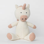 Organic Cotton Classic Knit Unicorn - CityBarnCountryPenthouse
