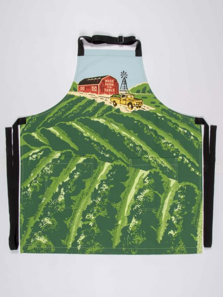 WEED FARM TO TABLE APRON - CityBarnCountryPenthouse