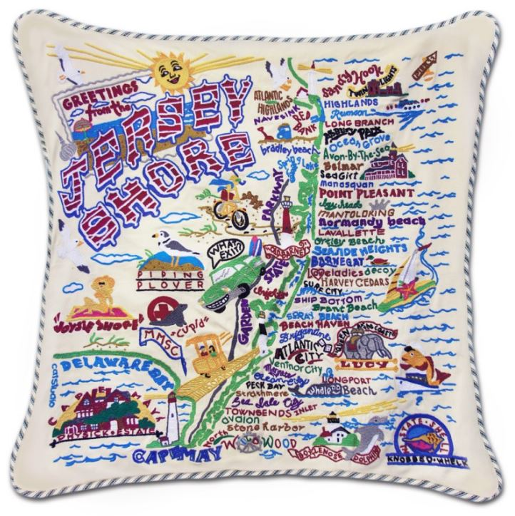 JERSEY SHORE XL PILLOW