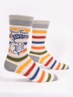 YOUR TEAM SUCKS M-CREW SOCKS - CityBarnCountryPenthouse
