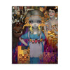 Alice In A Klimt Dream - Fabric Banner