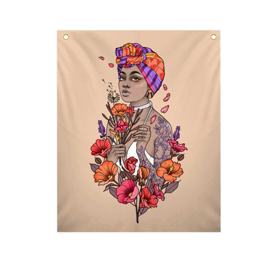 Bloom - Fabric Banner