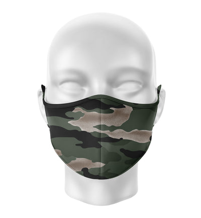 Face Mask | Green Camo - artistvsart