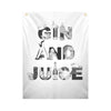 GIN AND JUICE - Fabric Banner - artistvsart
