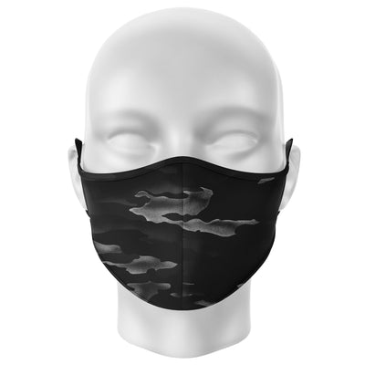 Face Mask | Black Camo - artistvsart