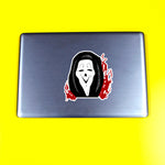 High Ghost Face Sticker