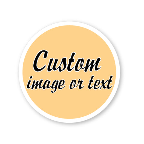 Custom Round Sticker