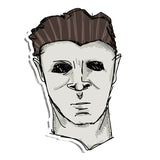Myers Mask Sticker