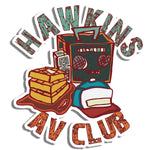 Hawkins AV Club Sticker