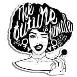 Future is Female Sticker