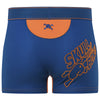 Team Skull & Bones Trunk in Blue & Orange