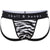 Tiger Print Jock in Black & White