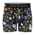 Hand-Painted Dutch Floral Boxer Brief