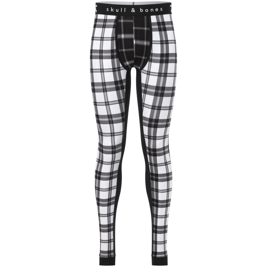 Black and White Plaid Leggings