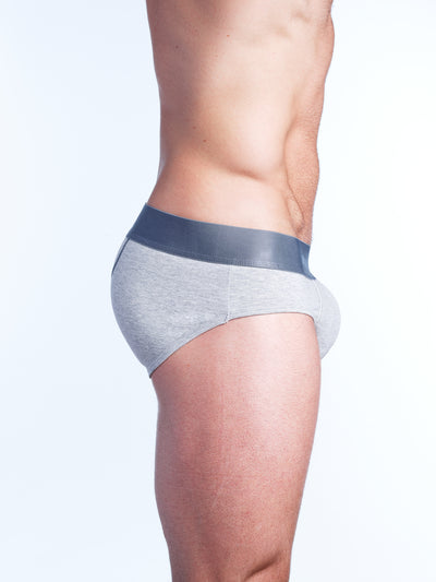 Just The Bones Brief Grey