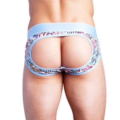 Carnival Toile Peek-a-Boo Brief