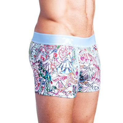 Carnival Toile Trunk