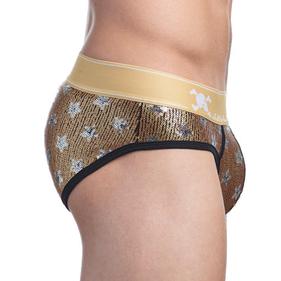 Limited Edition Star Sequin Brief