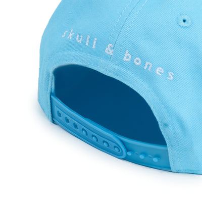 Pink and White Skull & Bones Logo Hat