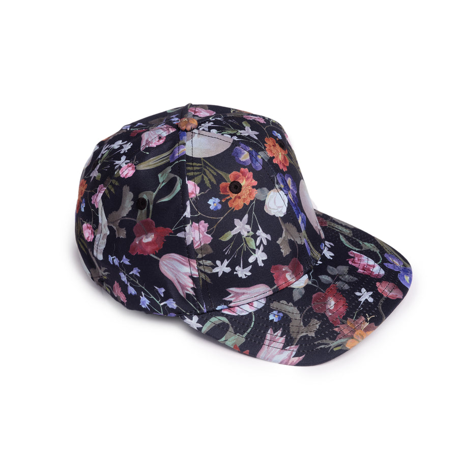 Hand Painted Dutch Floral Hat
