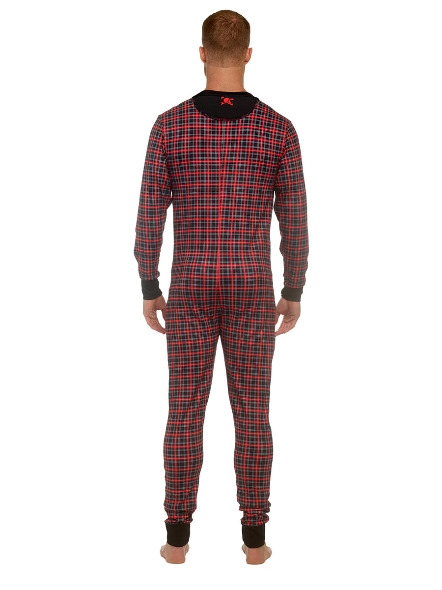 Tartan Plaid Union Suit