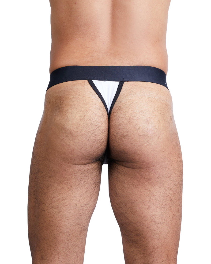 Just the Bones Thong White