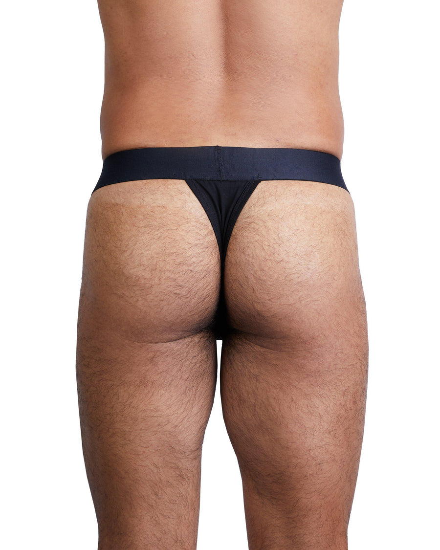Just The Bones Thong Black