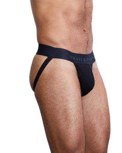Just the Bones Jock Black-Jock-Skull & Bones, Inc.