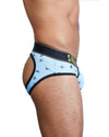 Hand Painted Bees Peek A Boo Brief