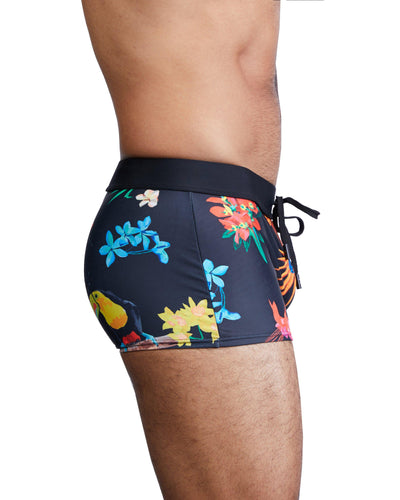 Tropical Swim Trunk-Swim Trunk-Skull & Bones, Inc.