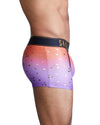 Purple Ombre Foil Logo Trunk