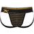 Geo Print Jock in Black with Gold Foil