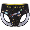Cosmic Print Peek-a-Boo Brief