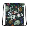 Dutch Floral Drawstring Backpack