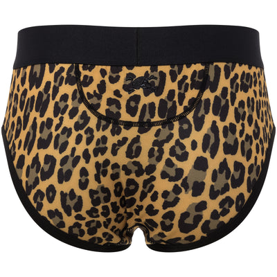 Leopard Print Brief